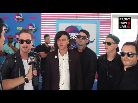 Sleeping With Sirens Interview on New Album 'Gossip' at Teen Choice Awards 2017