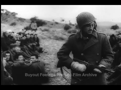 Historic Archival Stock Footage WWII - The Battle of Tunisia