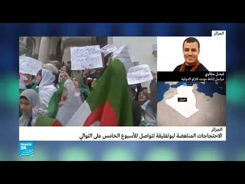 مراسل لفرانس24: متظاهرون يطالبون بعودة الرئيس الجزائري السابق اليمين زروال إلى السلطة  - نشر قبل 9 دقيقة