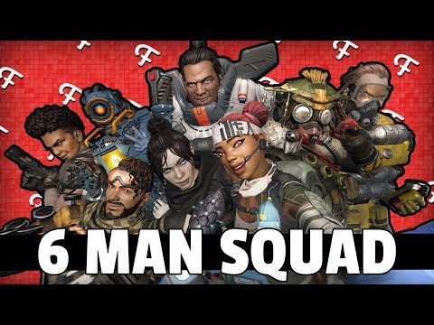 Apex Legends: 6 Man Squad Champion At 3:00 AM! (Online - Comedy Gaming)