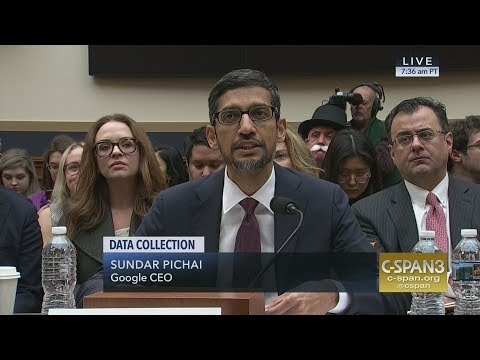 LIVE: Google CEO Sundar Pichai testifies on Data Collection (C-SPAN) Mp3