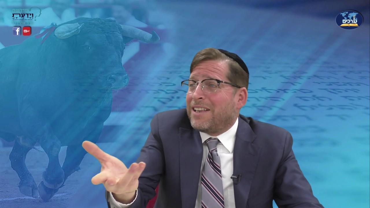 לא אנחנו לא חיות - על צמחונות ומוסריות ביהדות - שיעור 10 - הרב אהרן לוי