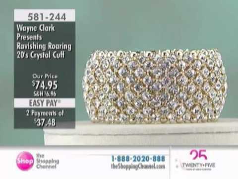 Wayne Clark Ravishing Roaring 20's Crystal Cuff at...