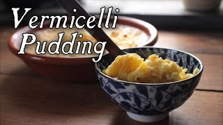 Vermicelli Pudding - Kugel 18th Century Cooking S6e8
