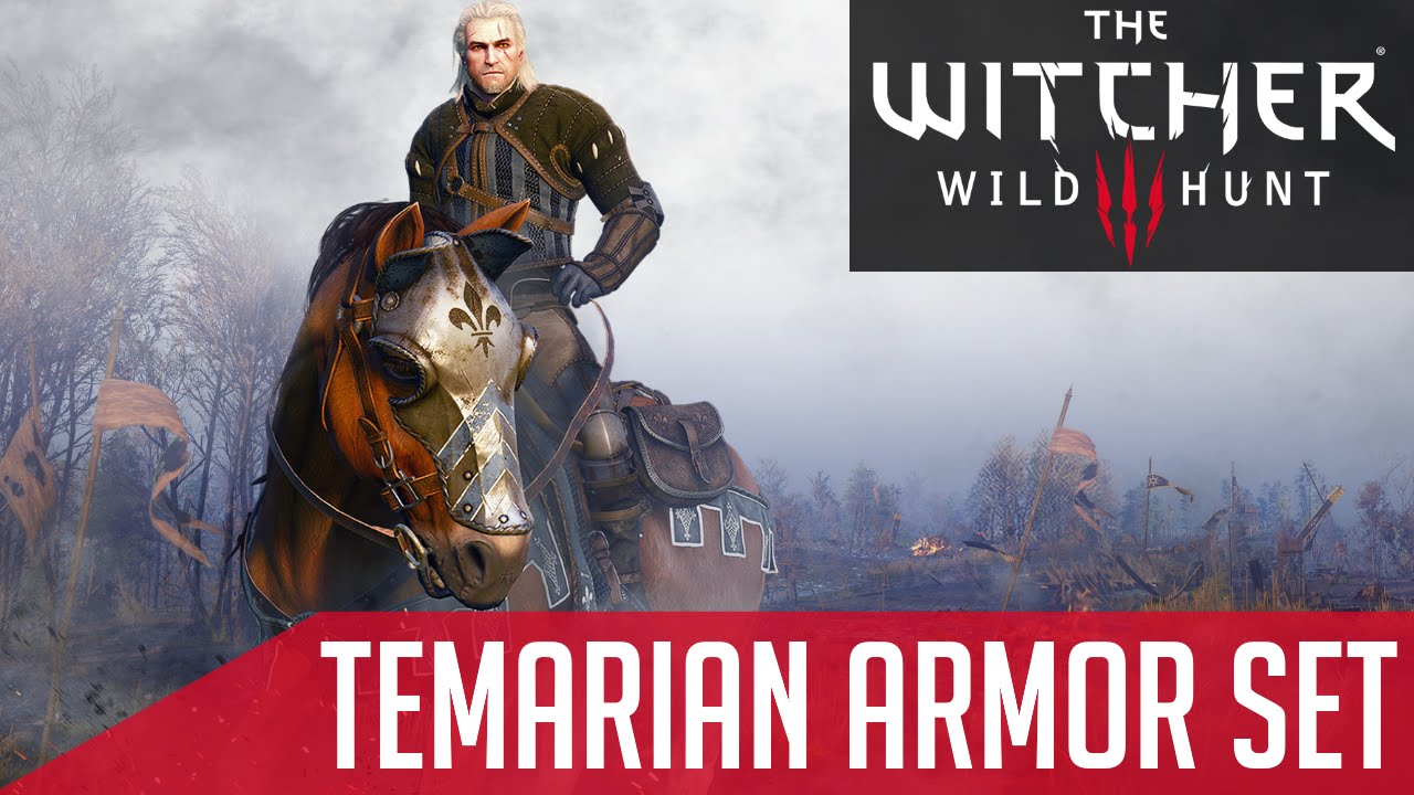 Witcher 3 Free DLC: Temarian Armor Set (How to access)