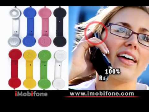 """iMobifone Mobile Phone Handsets - """"Clear Your Brain"""""""