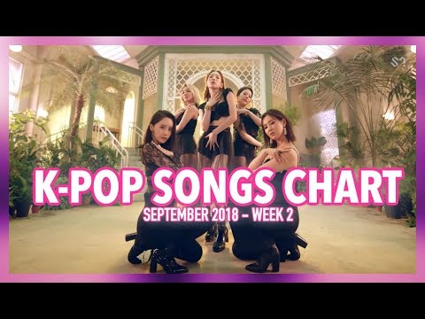 K-POP SONGS CHART | SEPTEMBER 2018 (WEEK 2)