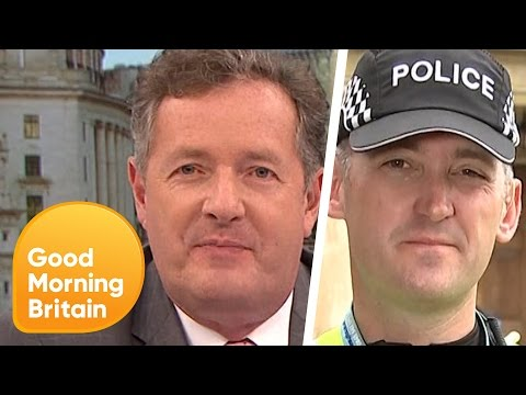 Piers Argues With Police Officer Over Gender-Neutral Reforms | Good Morning Britain