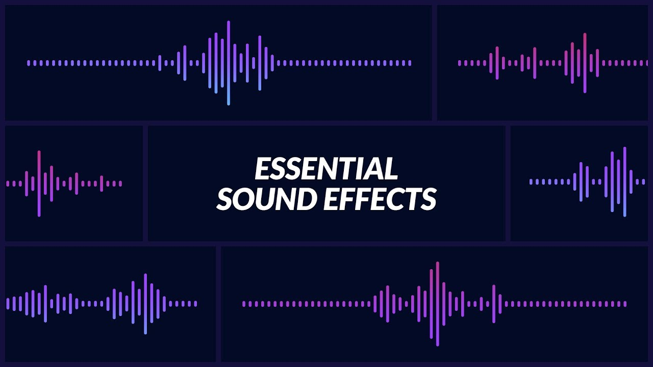 essential sound effects for animation composer youtube