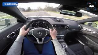 POV Mercedes Benz SL 63 AMG 5.5 V8 BiTurbo Performance PACK Sound & OnBoard Test Drive