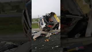 Accident along Mombasa Road