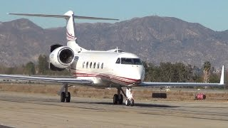 What An Approach! Gulfstream G-IV-X (G350) at VNY