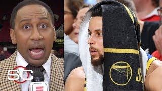 Stephen A. goes off on Curry and Klay for not feeding Kevin Durant in Game 3 | SportsCenter