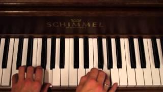 Lillegutt kan tromme - Enkle akkorder (piano)