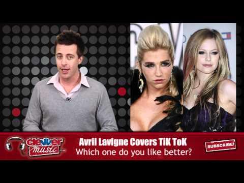 Avril Lavigne Sings Acoustic Cover of Ke$ha's 'TiK ToK'