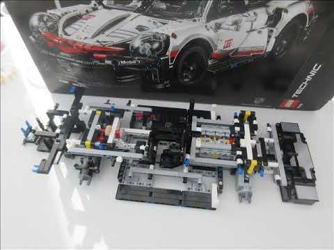 Lego Technic Porche 911 RSR - REF 42096 (1580 pièces)