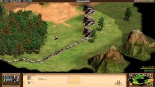 Age of Empires 2 HD Edition - Genghis Khan - The Horde Rides West Walkthrough Gameplay