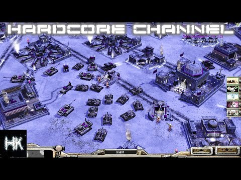 Command & Conquer Generals: Zero Hour - FFA - AI Mod - Шоковая терапия