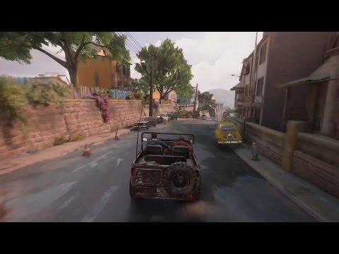 Uncharted 4: A Thief's End - семь минут геймплея с E3 2015