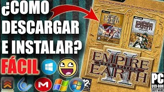 Descargar e Instalar Empire Earth 2 Gold Edition para PC Full En Español (Fácil)