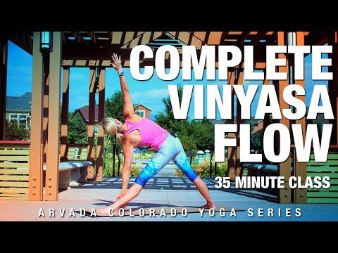 35 Min Complete Vinyasa Flow Yoga Class - Five Parks Yoga