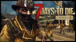 7 Days to Die HARD-MODE! - Ravenhearst Mod Begins! (7 Days to Die Modded Ravenhearst Part 1)
