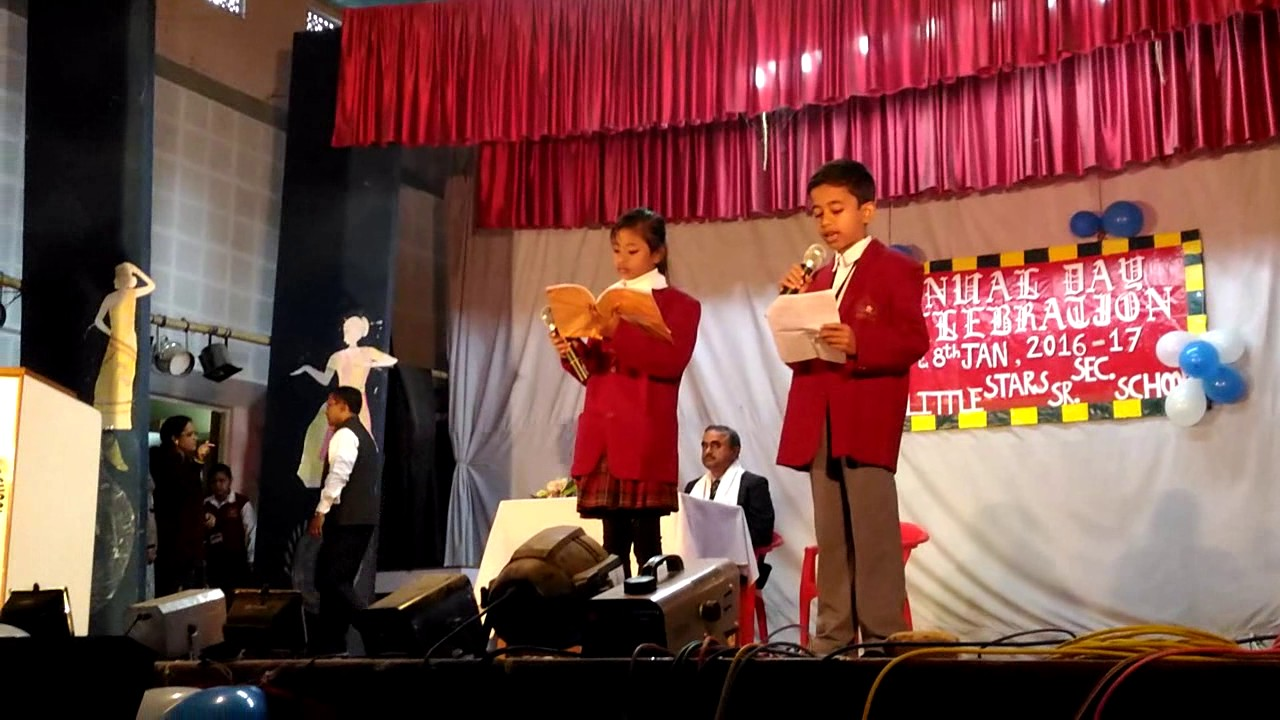 how to invite chief guest on stage for speech