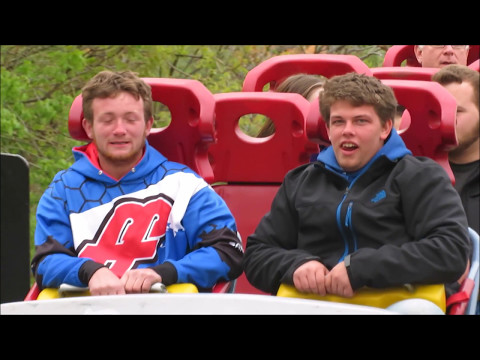 Top Thrill Dragster Reactions Compilation | Cedar Point 2017