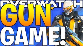 OVERWATCH GUN GAME CUSTOM GAMEMODE WITH FRIENDS!