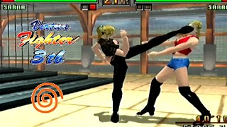Virtua Fighter 3tb playthrough (Dreamcast)
