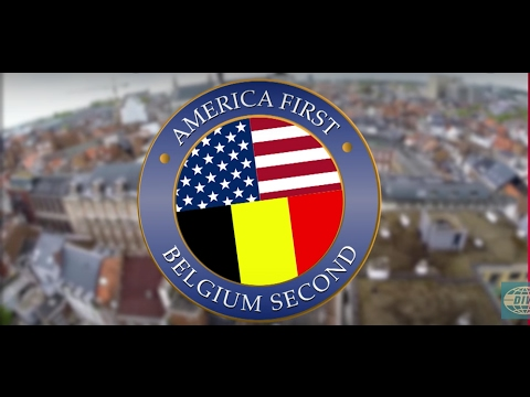 Belgium welcomes Trump in his own words