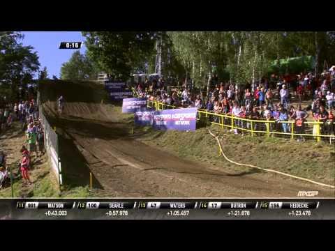 MXGP of Czech Republic 2015 FULL Race Replay MXGP Race 2