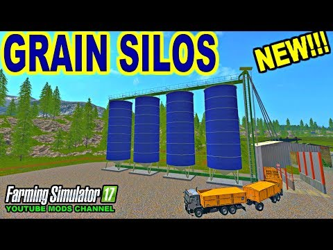 Farming Simulator 2017 Mods New Grain Silo And Man TGS AgroTruck Pack