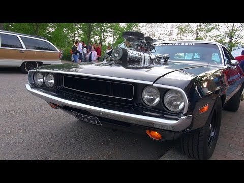 SUPERCHARGED 572 HEMI Dodge Challenger – Amazing V8 Sound!