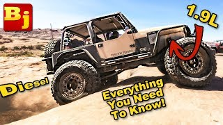 Jeep Tdi swap! Everything you need to know to get started😱