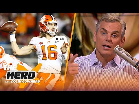 Colin on Clemson: 'They have a chance to be the best college team of all time' | CFB | THE HERD