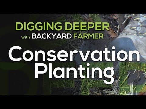 Digging Deeper Conservation Planting