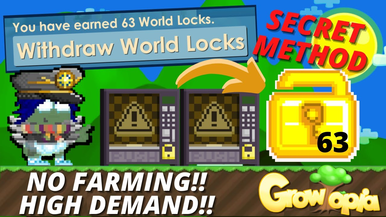 Download BEST PROFIT IN GROWTOPIA 2021, 35 WLS TO 63 WLS [NO FARMING - FULL GUIDE] - GROWTOPIA PROFIT 2021