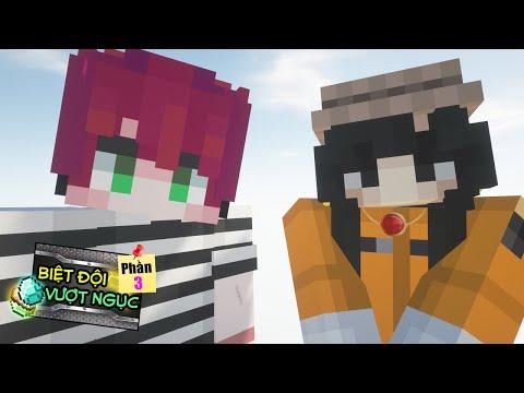 Minecraft Biệt Đội Vượt Ngục (Phần 4) #2- BỊ KẸT LẠI TRONG TÙ 👮♂️ vs 🥺