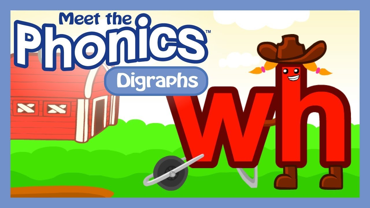 medium resolution of Meet the Phonics Digraphs - wh - YouTube