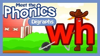 Meet the Phonics Digraphs - wh