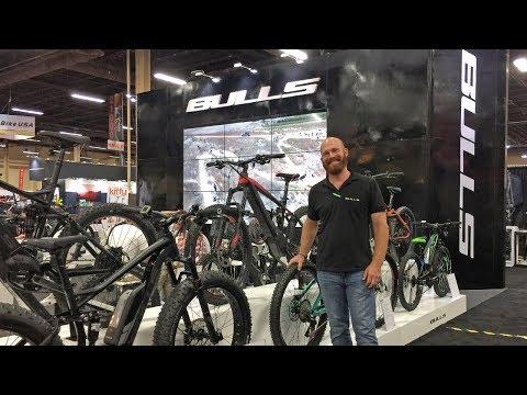 2018 BULLS Electric Bike Updates at Interbike (PowerTube, MonkeyLink, Brose Drive S, Shimano E8000)