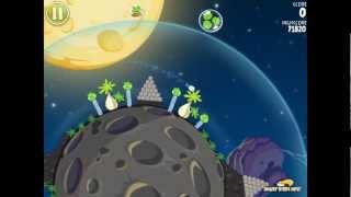Angry Birds Space S-1 Pig Bang Bonus Level Walkthrough