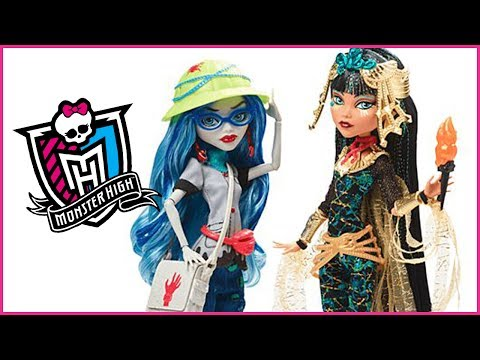 Monster High Cleo De Nile and Ghoulia Yelps Exclusive 2 Pk Doll Review