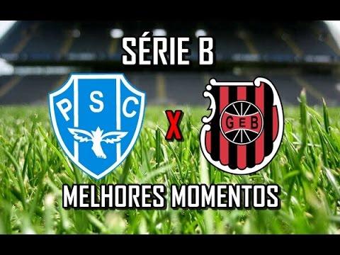 Paysandu 1x1 Brasil de Pelotas - Série B 2016 I MELHORES MOMENTOS