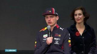 Teambaas Max Verstappen: 'We kunnen de strijd met Ferrari en Mercedes aan' - RTL NIEUWS