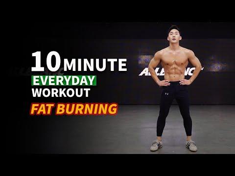 Do This Everyday To Lose Weight (No Gym Fullbody Tabata)ㅣ10분만에 체지방 불태우는 타바타 운동