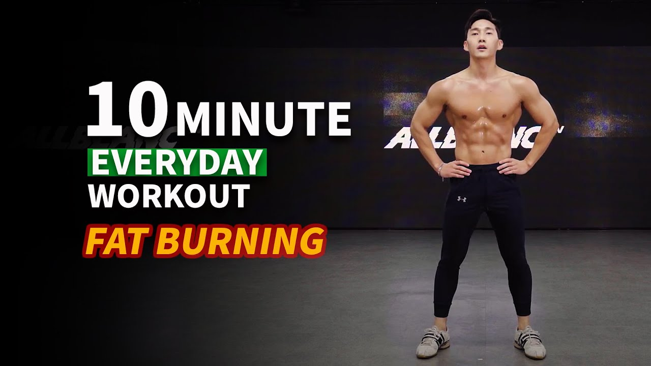 Do This Everyday To Lose Weight (No Gym Fullbody Tabata)ㅣ10분만에 체지방 불태우는 타바타 운동