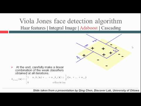 Viola Jones face detection and tracking explained