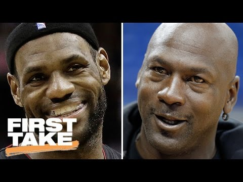Will LeBron James Ever Be As Good As Michael Jordan? | First Take | May 8, 2017